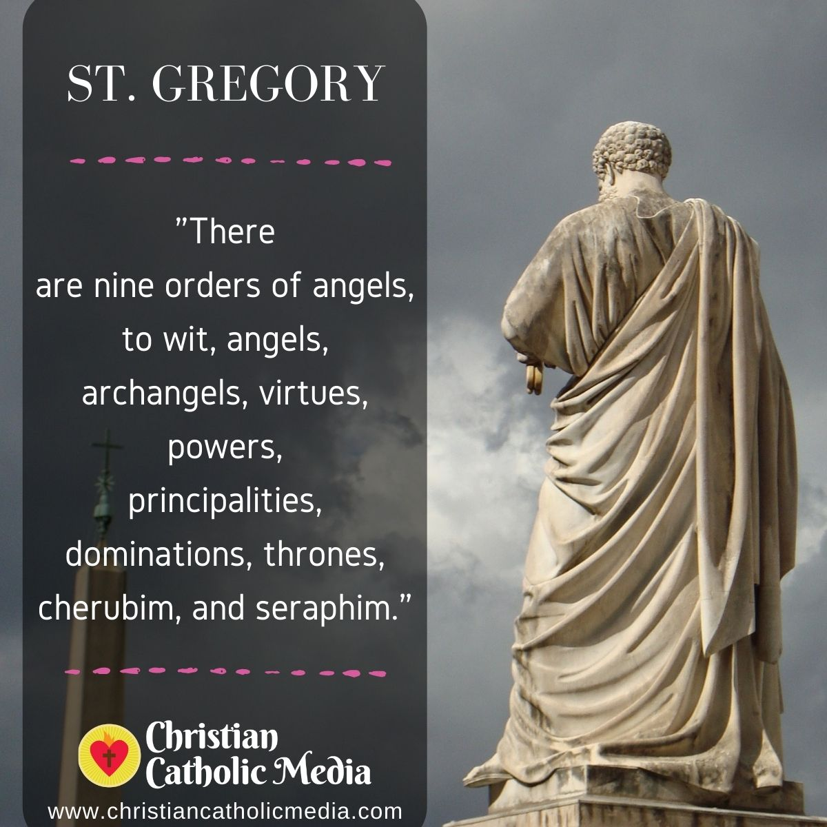 St. Gregory - Monday February 22, 2021