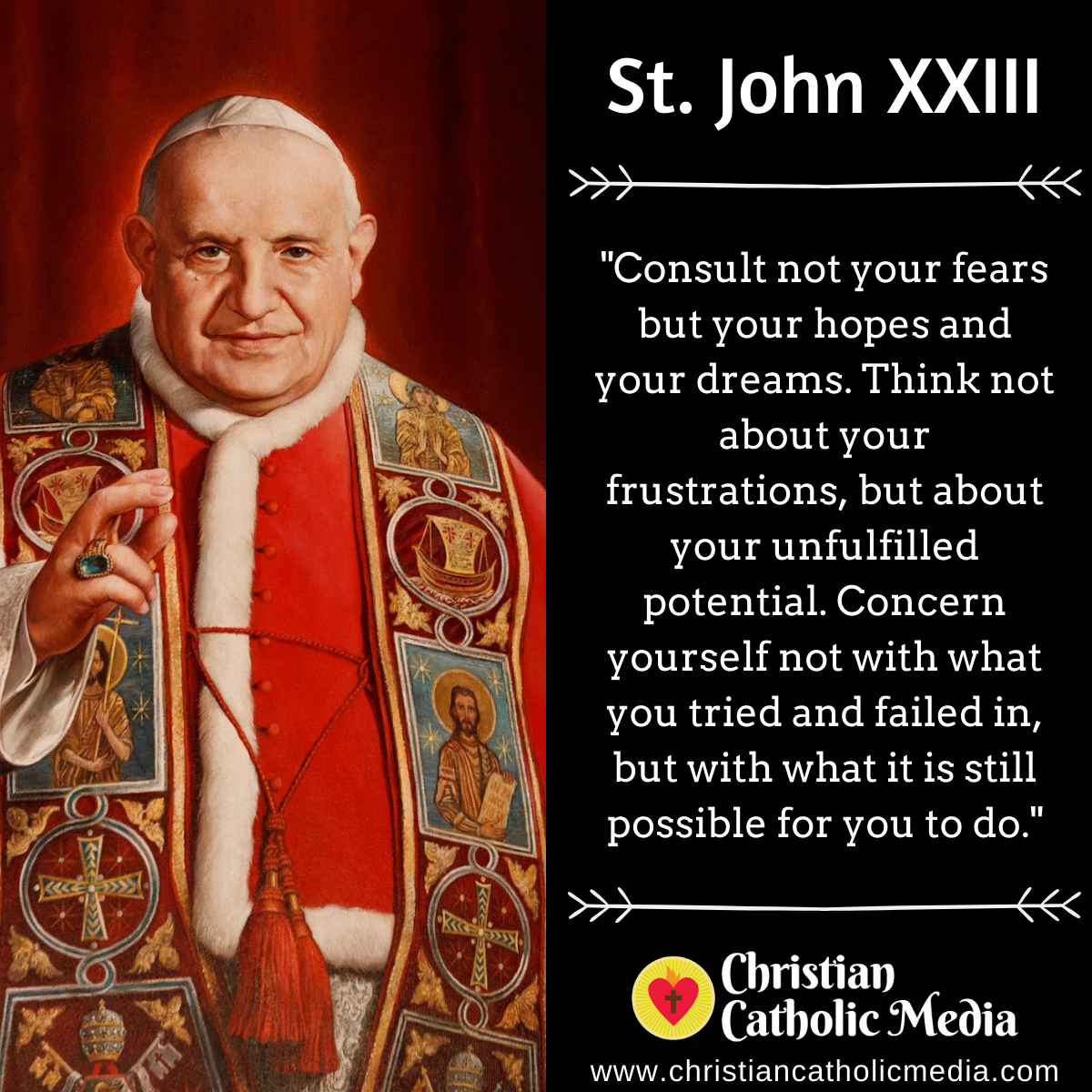 St. John XXIII - Sunday October 11, 2020
