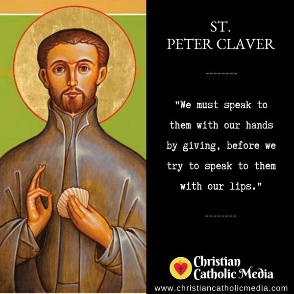 St. Peter Claver - Monday September 9, 2019