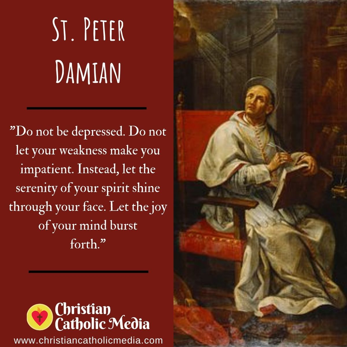 St. Peter Damian - Sunday February 21, 2021