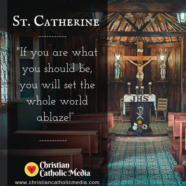St. Catherine - Friday August 30, 2019