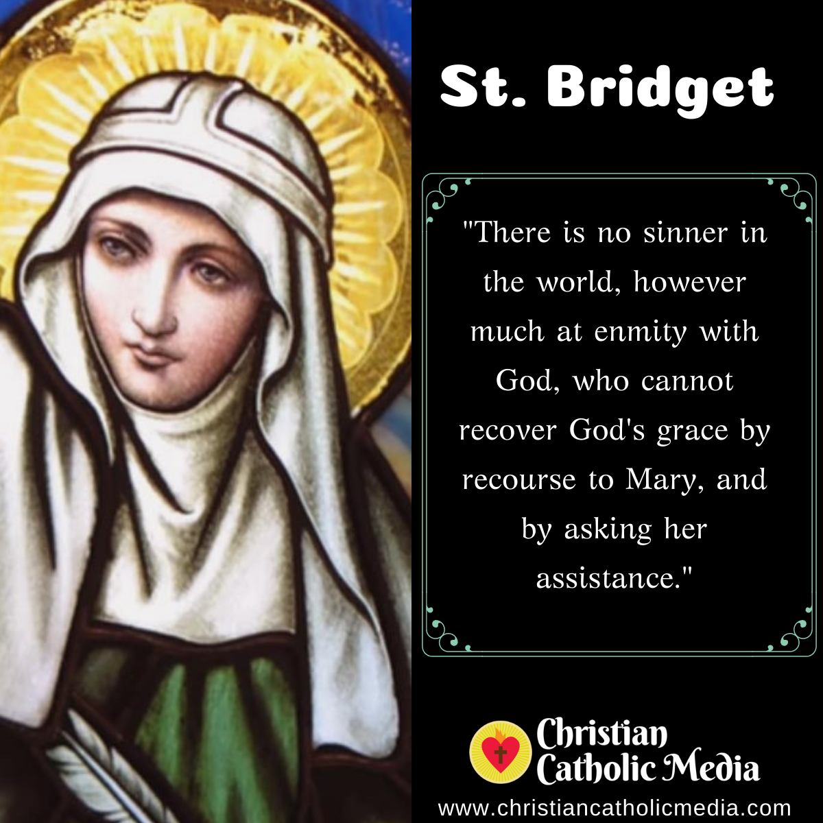 St. Bridget - Thursday July 23, 2020