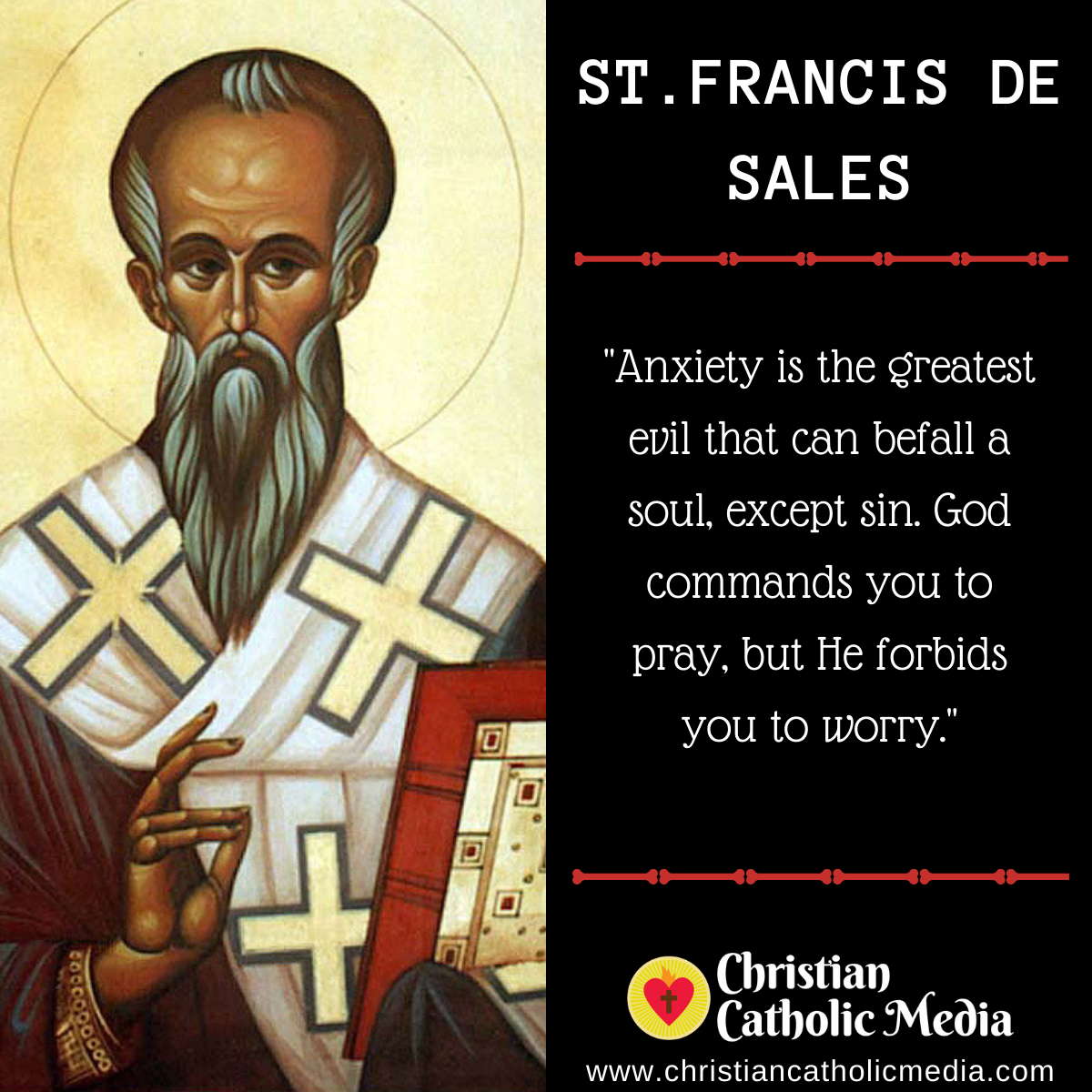 St. Francis de Sales - Friday January 24, 2020