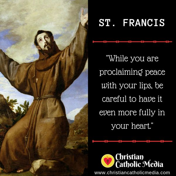 St. Francis - Friday October 4, 2019