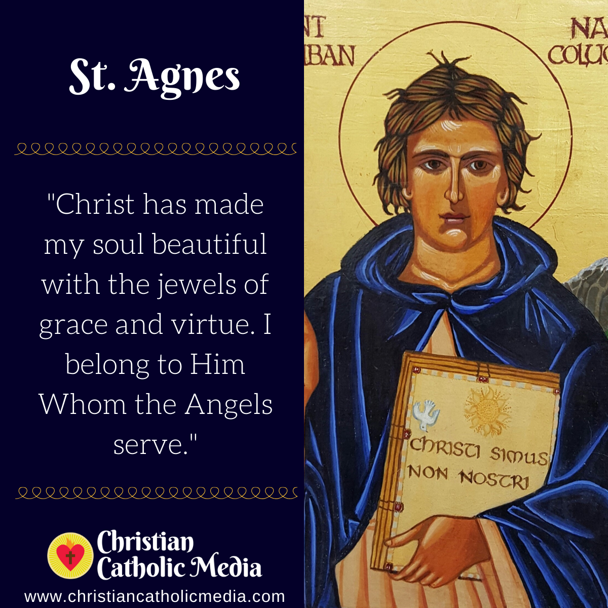 St. Agnes - Tuesday January 21, 2020
