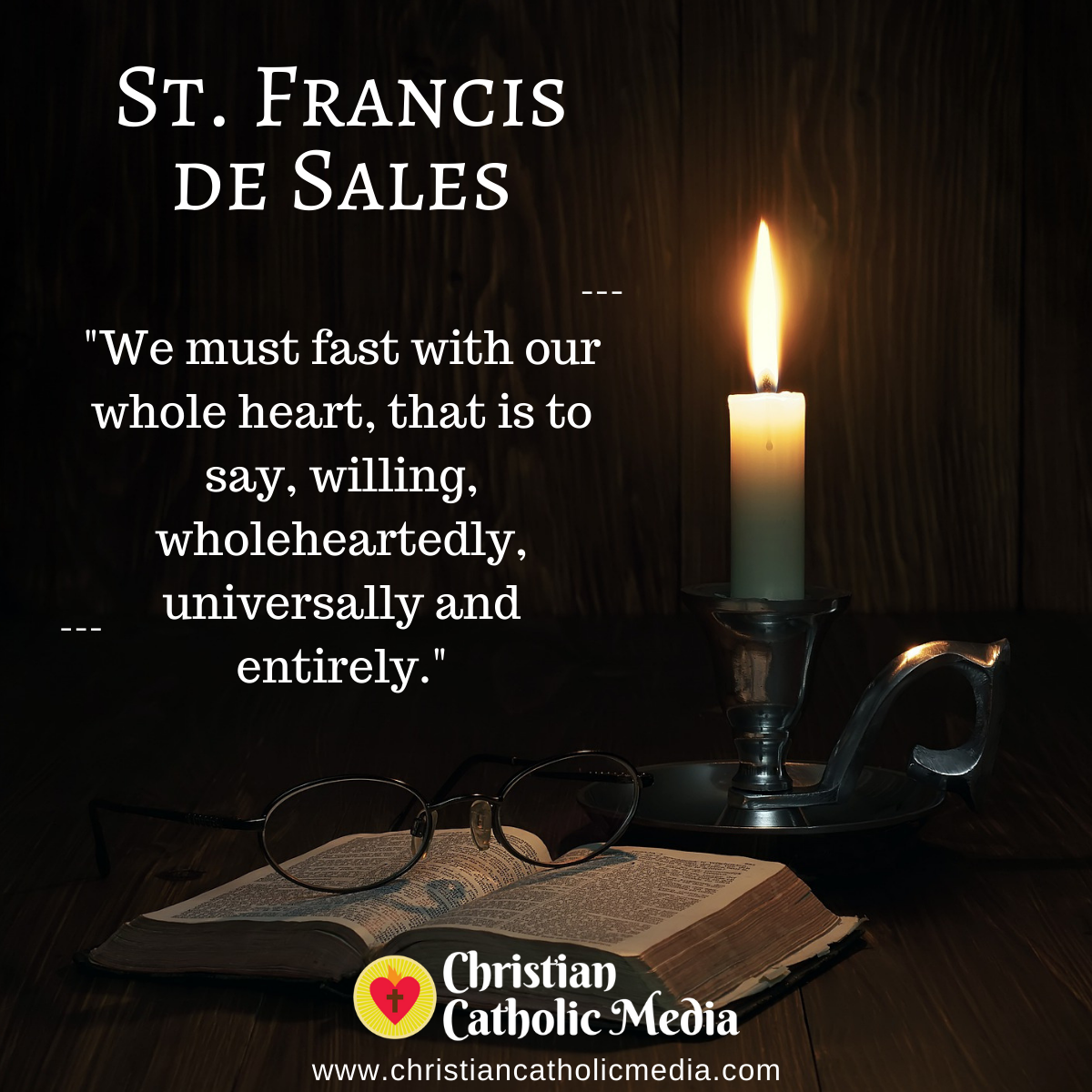 St. Francis de Sales - Thursday December 31, 2020