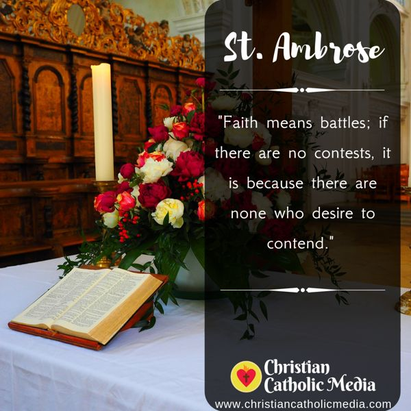 St. Ambrose - Sunday September 29, 2019