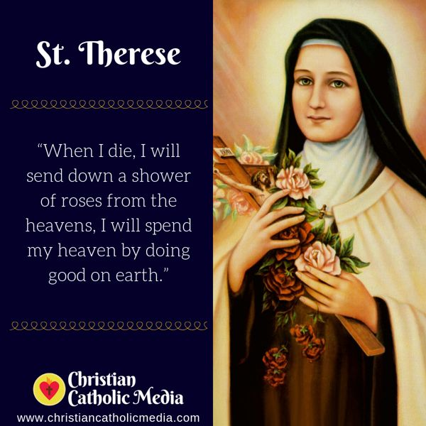 St. Therese - Tuesday October 1, 2019
