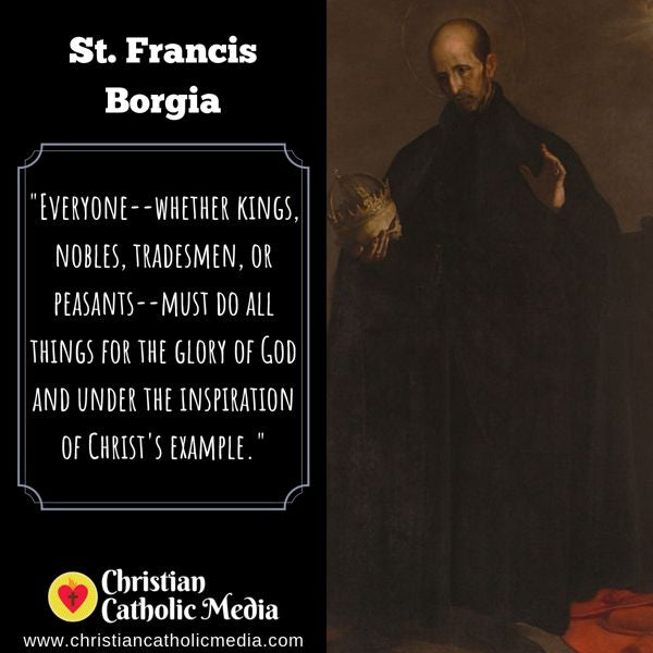 St. Francis Borgia - Thursday October 10, 2019