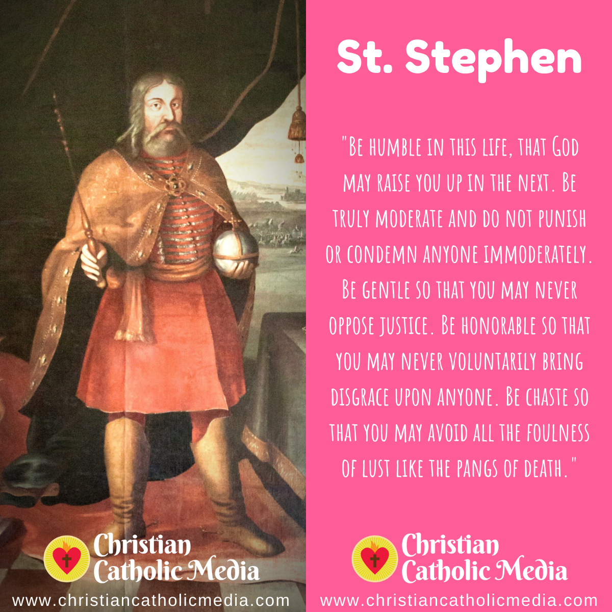 St. Stephen - Sunday August 16, 2020