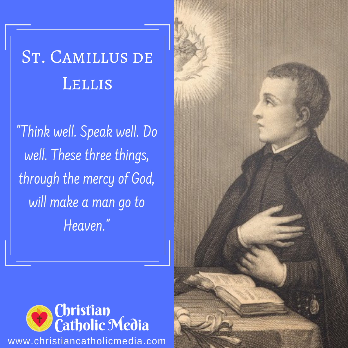 St. Camillus de Lellis - Saturday July 18, 2020