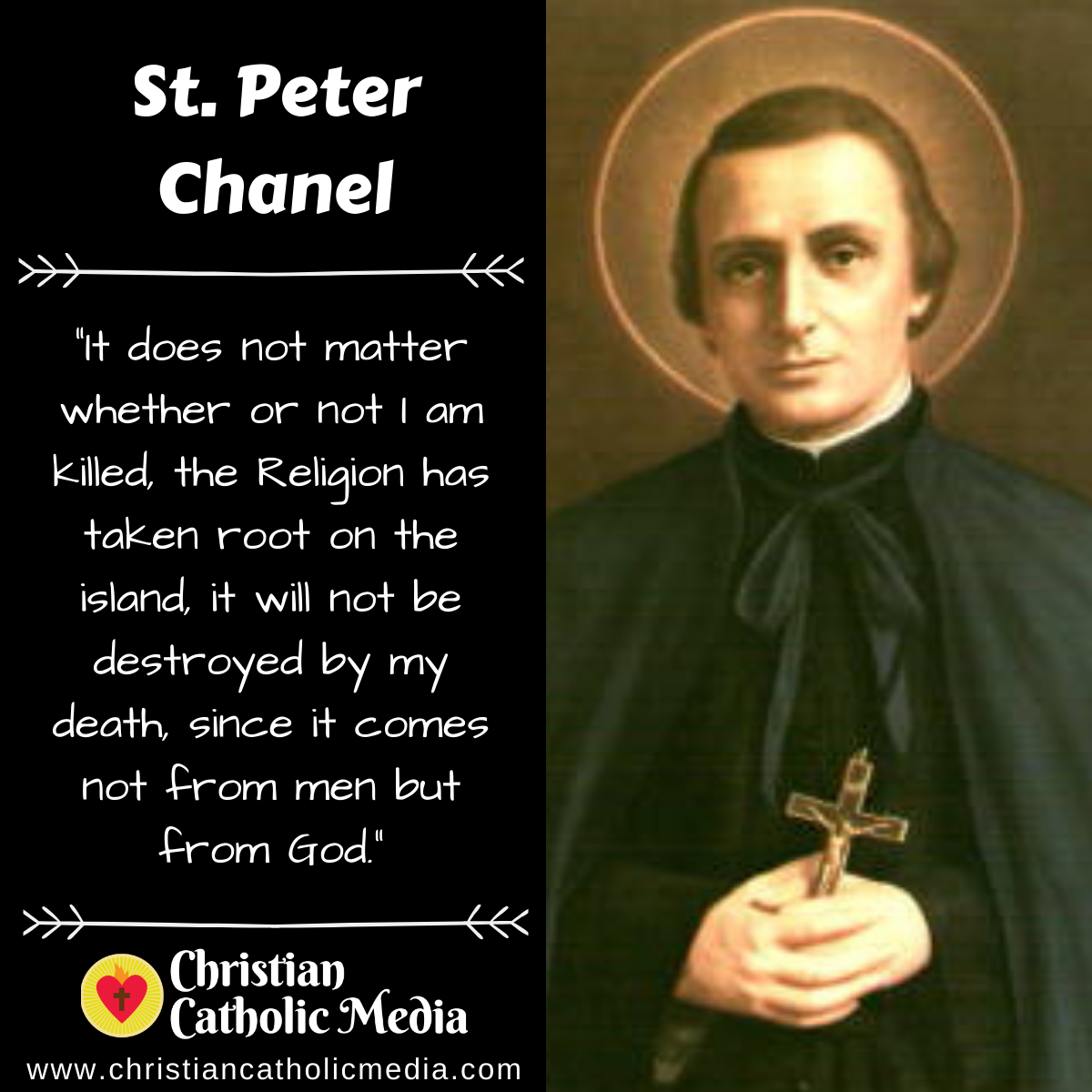 St. Peter Chanel - Wednesday April 28, 2021