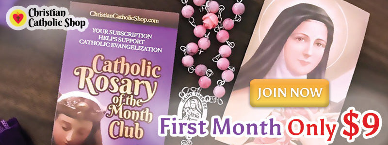 Catholic Rosary Of The Month Club - Join Now