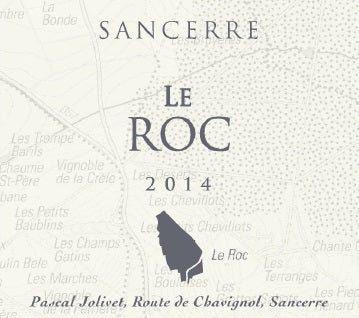 Pascal Jolivet Le Roc Sancerre 2018