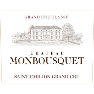 "Chateau Monbousquet "" Saint Emillion"" 2016"