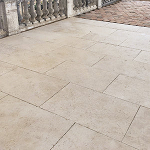 French Cream Limestone Flooring