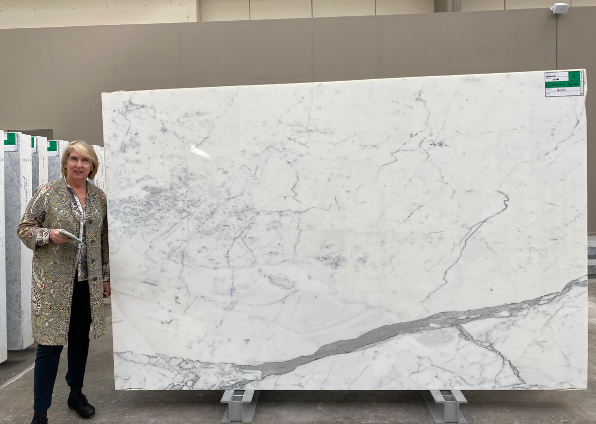 Marble from Carrara - Block 12384 Statuario