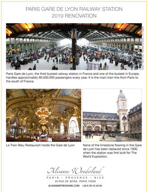 Gare de Lyon Project Sheet PDF Download