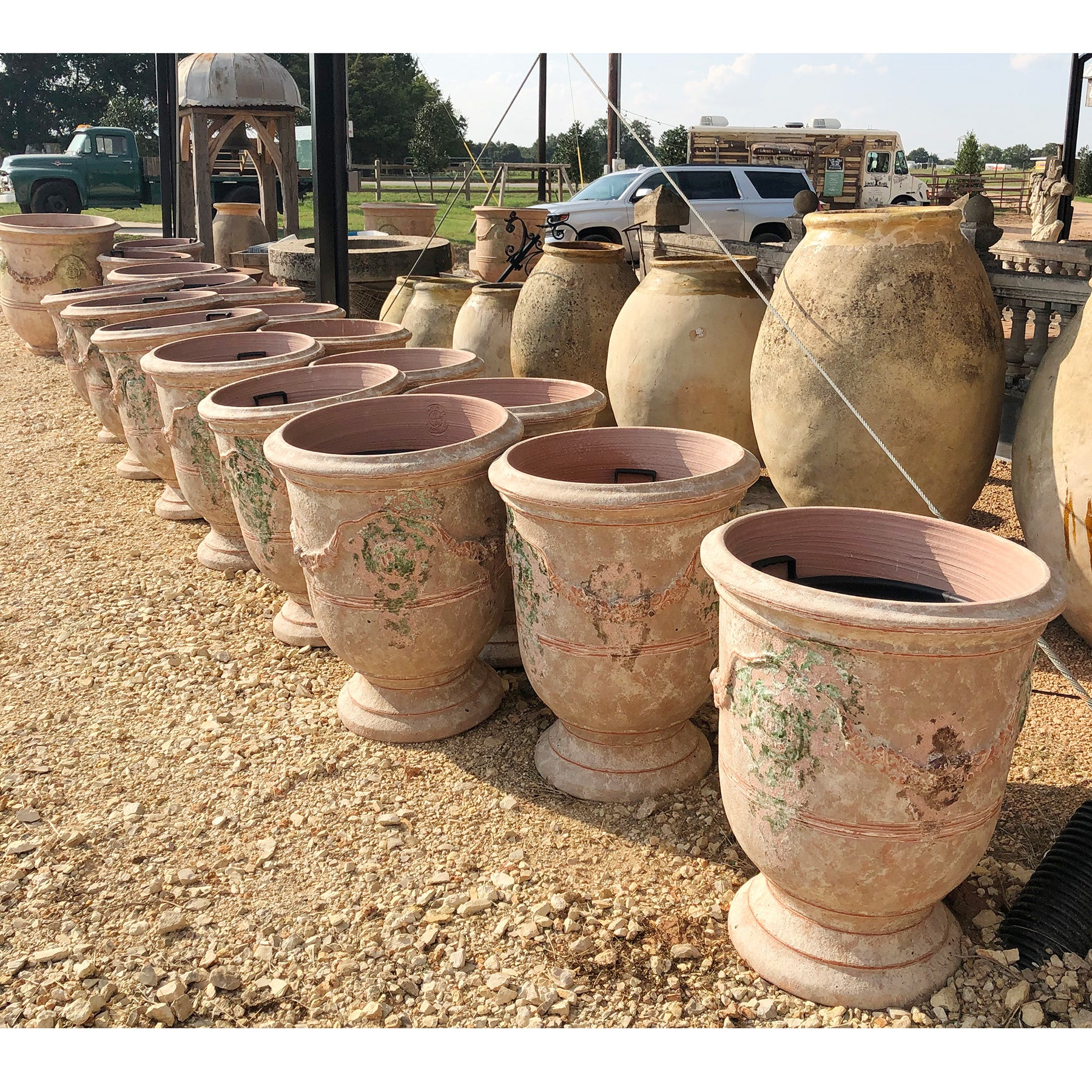 "Anduze Versailles 32"" Terracotta Pot - 10 available"