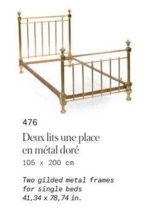 Antique Bed Frame from The Ritz Paris (B)