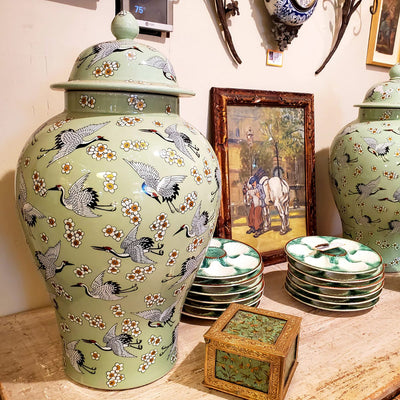 Chinese Vases - Large - Pair