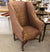 Scandinavian Wing Back Chair - Silk