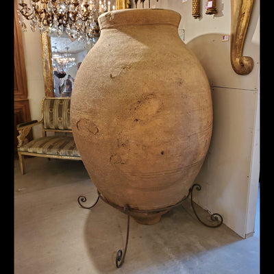 Antique Monumental Wine Jar from Spain - B