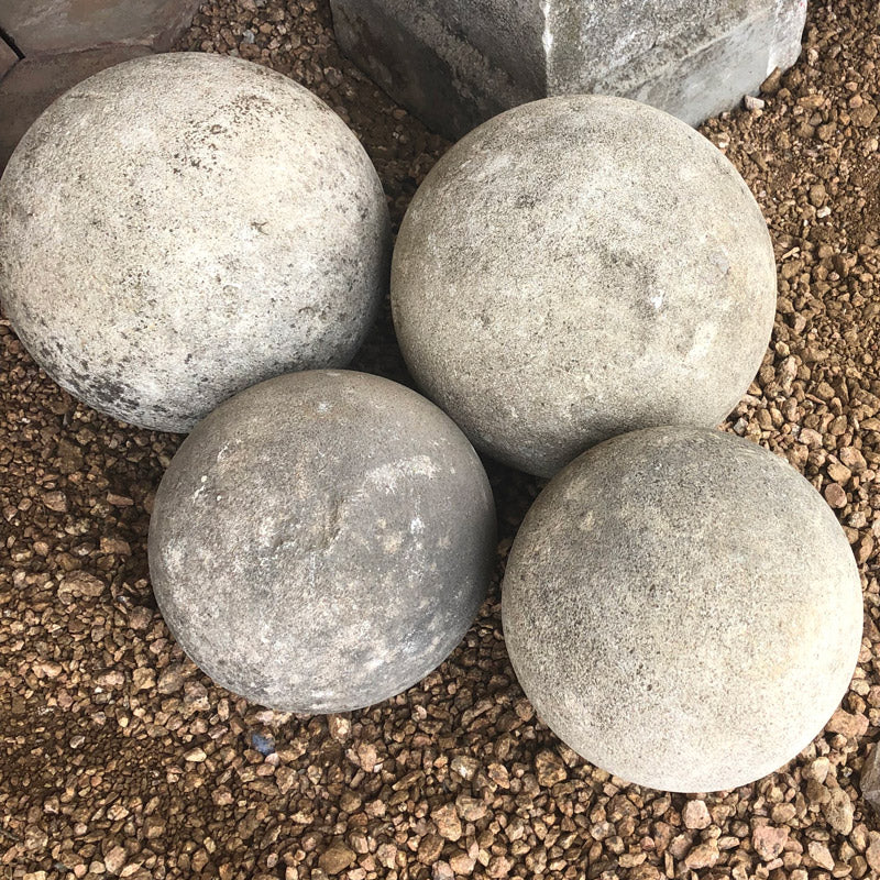 Stone Balls - Large - Garden or Home Decor