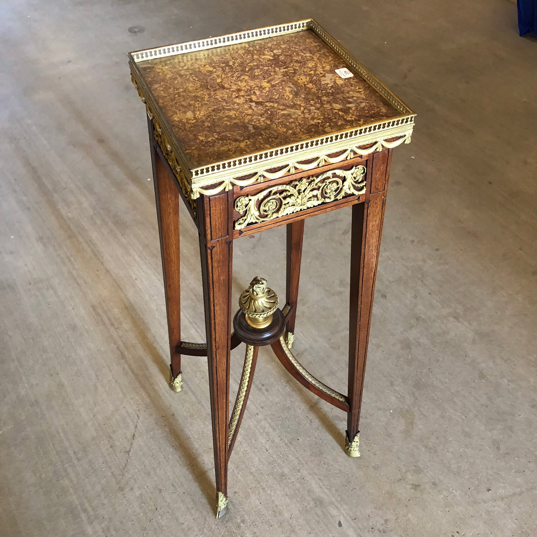 Beautiful Display Stand with Drawer