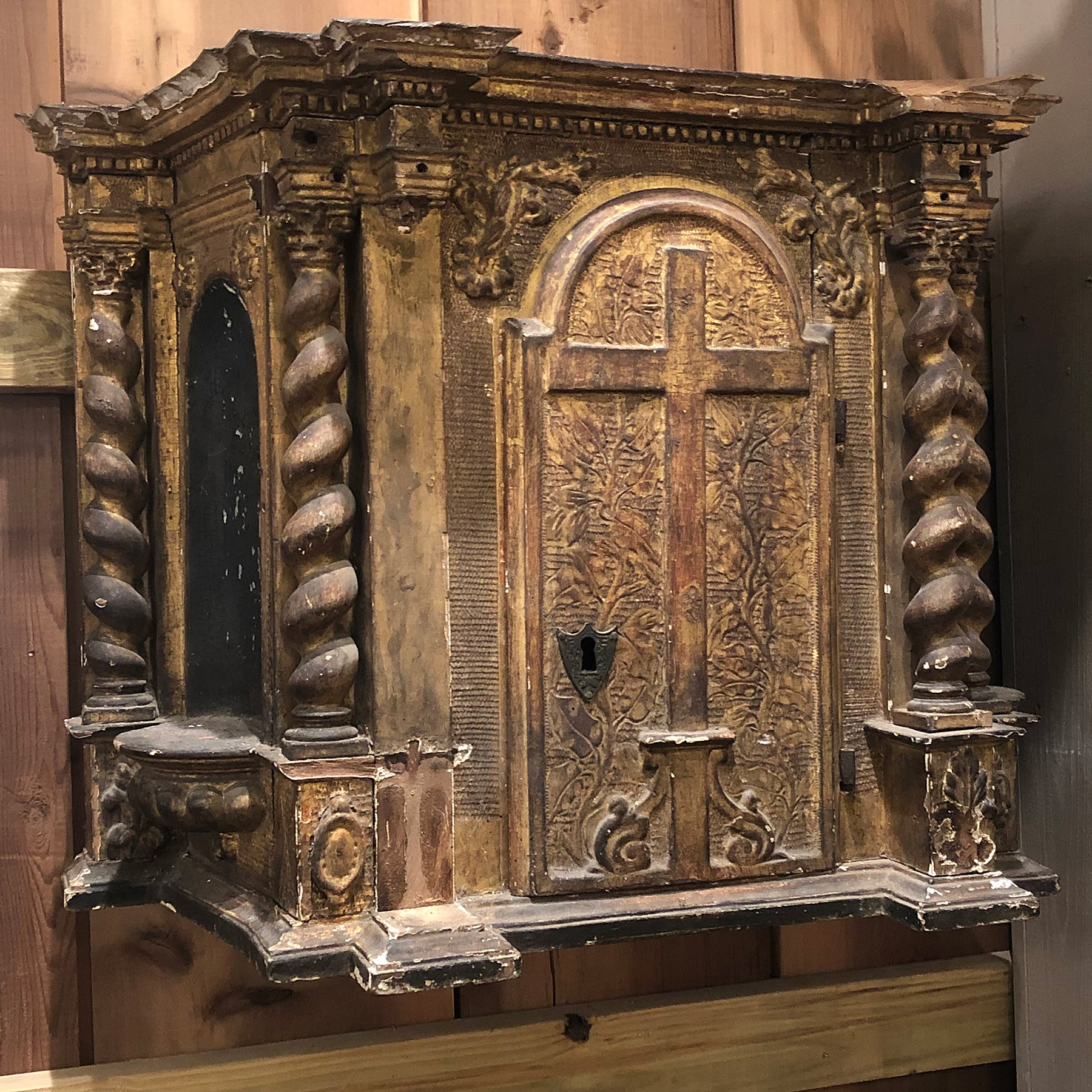 18th century French Church Tabernacle