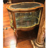 Curved Glass Vitrine