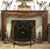 18th century Walnut Fireplace