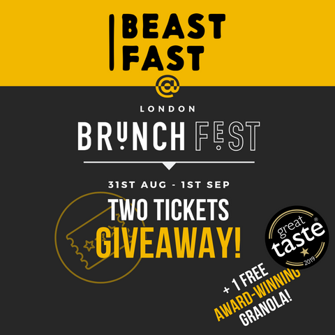London Brunch Fest BEASTFAST Ticket Giveaway