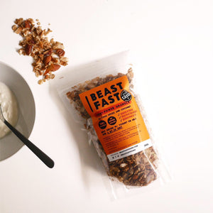 Chai-Power Granola - Chai Spices, Pecan & Coconut