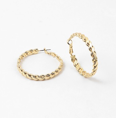 Gala Braided Hoops