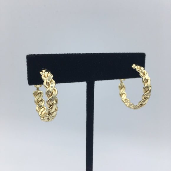 Braided Hoops - Small
