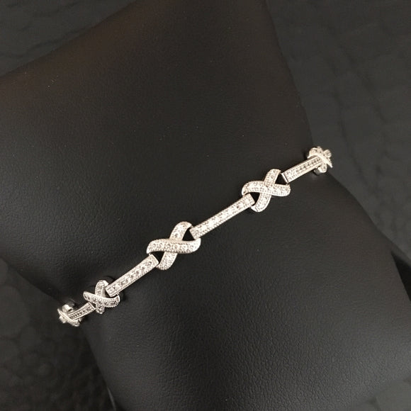Sterling Eternal Love Bracelet