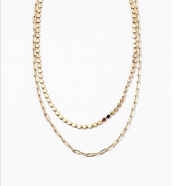 Double Chain Necklace - 2.0