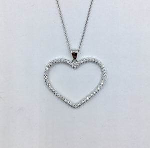 Sterling Heart Necklace 2.0