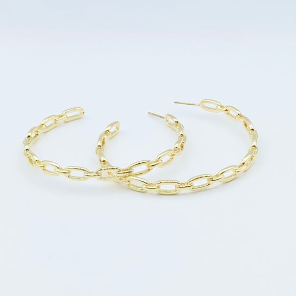 Statement Chain Hoops 3.0