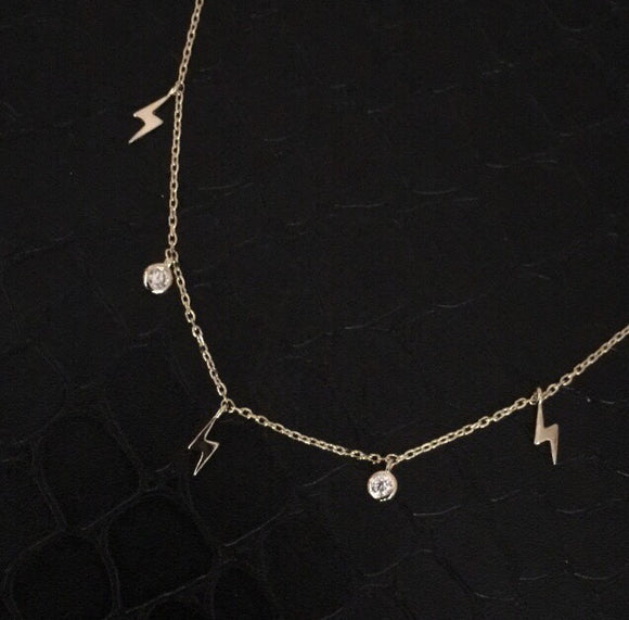 Lightening Charm Necklace