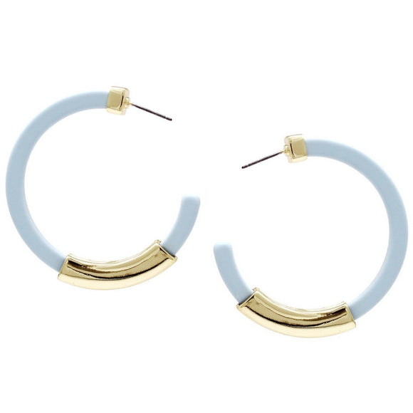 Statement Hoops - 6.0 - Blue