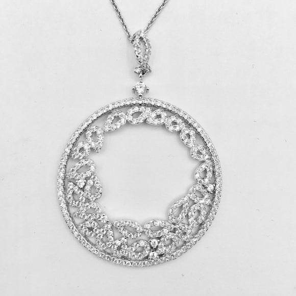 Roma Circle Necklace