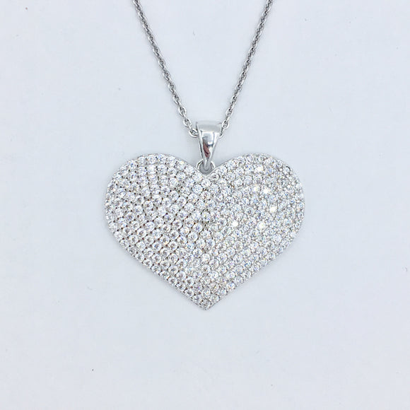 Sterling Heart Necklace 4.0