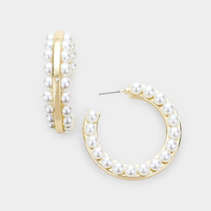 Pearl Statement Hoops 9.0