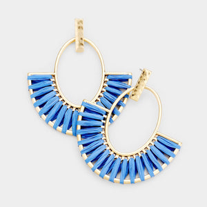 Raffia Statement - Blue