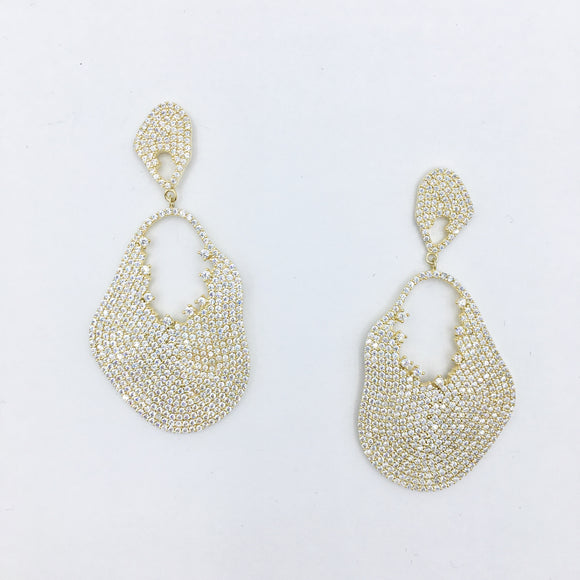 Gold Goddess Earrings