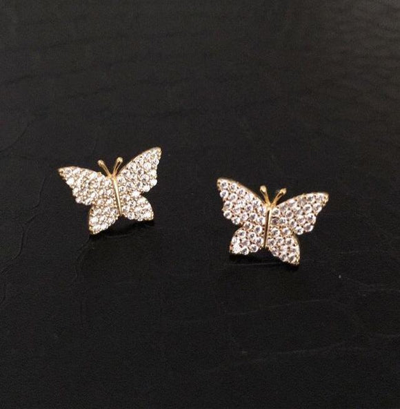 Glam Butterfly Studs