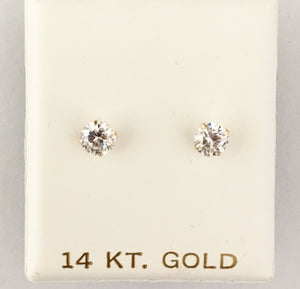 Diamond Stud Screwback - Medium