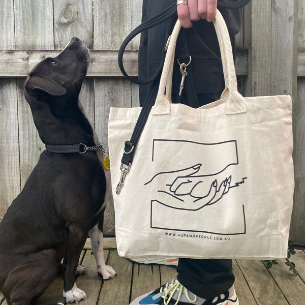 The 'Hand & Paw' Reusable Bag